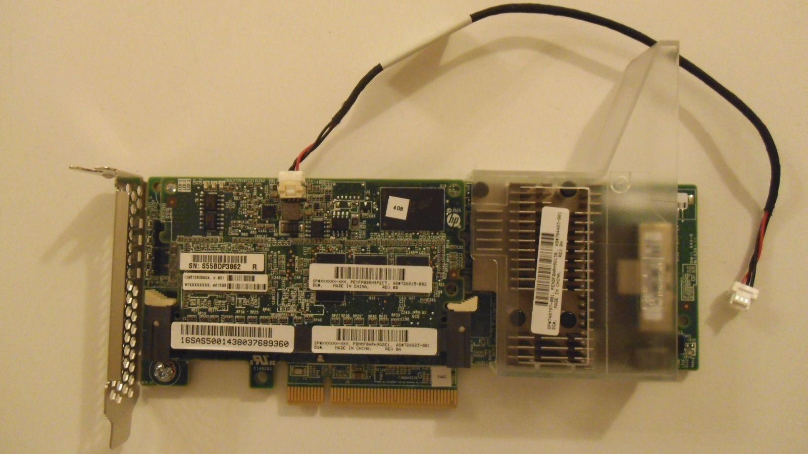 749974-B21 NEW HP Smart Array P440AR//2GB FBWC 12GB 2-Port RAID Controller P//N